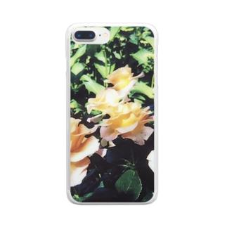黄薔薇 Clear smartphone cases