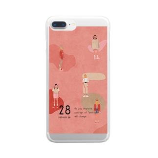 【2019.01.28】新井リオの英語日記グッズ Clear smartphone cases