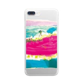 沼 Clear smartphone cases