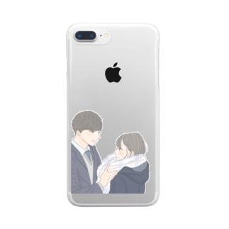 青春 Clear smartphone cases