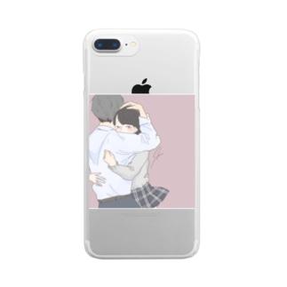 歳なんて関係ない Clear smartphone cases