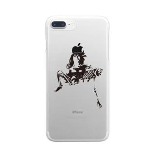Embrace Skeleton Clear smartphone cases