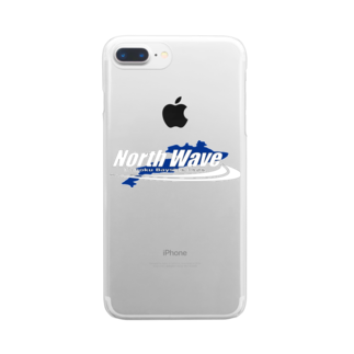 North Wave オリジナルグッズのNorth Wave Clear smartphone cases