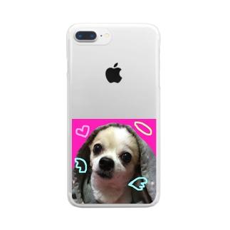 ももてん Clear smartphone cases