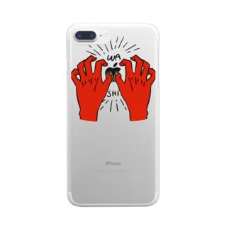 WASHIDUKAMI Clear smartphone cases