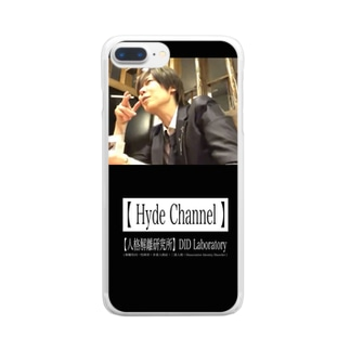 煙草Hyde Clear smartphone cases