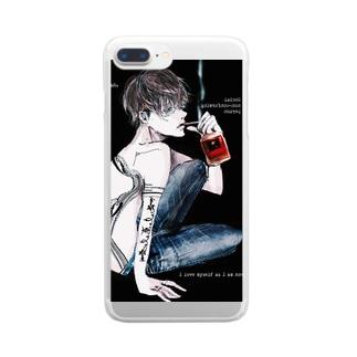 社会不適合者;♂ Clear smartphone cases