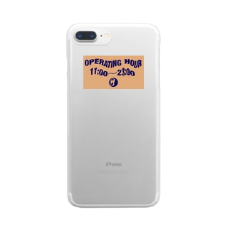 OPERATING HOUR Clear smartphone cases