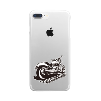 Rider's Spirit Clear smartphone cases