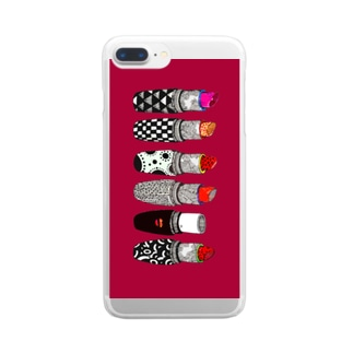 kiss me Clear smartphone cases