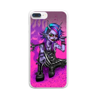 No.19悪魔くん Clear smartphone cases