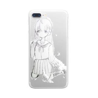 蜀・逡繰K 冥界JK Clear smartphone cases