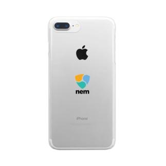 NEM ネム Clear smartphone cases