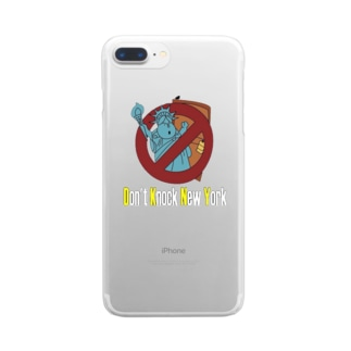 Don't knock New York Clear smartphone cases