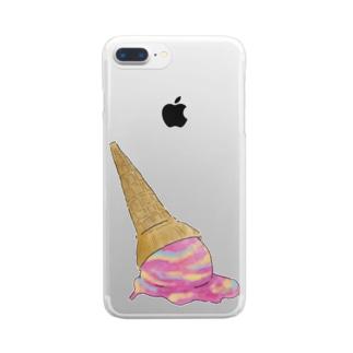 ice cream Clear smartphone cases