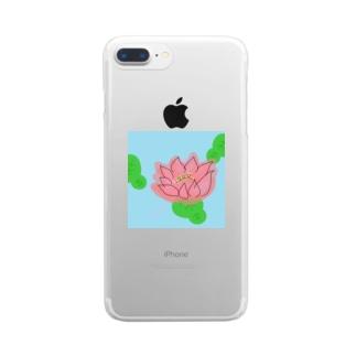蓮 Clear smartphone cases