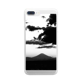 マウントフジ Clear smartphone cases