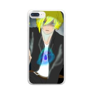 あやつり人形 Clear smartphone cases
