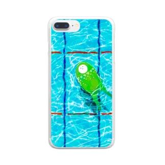 たゆたゆ Clear smartphone cases