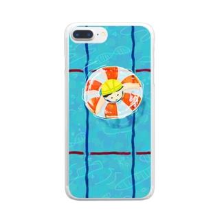 たゆたゆ 2 Clear smartphone cases