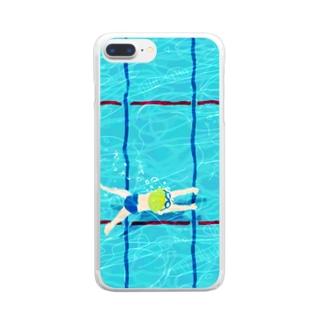 たゆたゆ 3 Clear smartphone cases