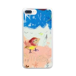ムラナギ/ナヴィ Clear smartphone cases