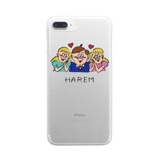 HAREM Clear smartphone cases