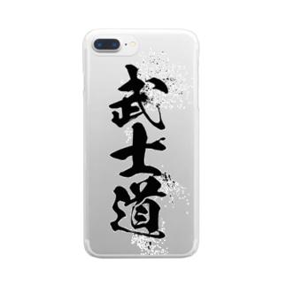 武士道 Clear smartphone cases