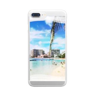 ART HAWAII Clear smartphone cases