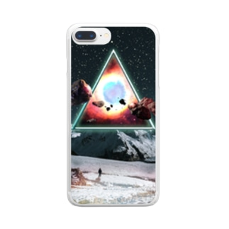 Triangle Clear smartphone cases