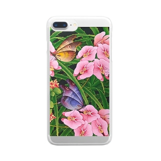 Orchid Garden  Clear Smartphone Case