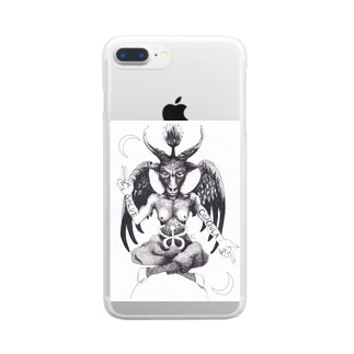 Baphomet Clear smartphone cases