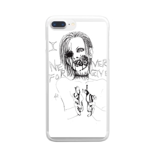 NeverForgive2 Clear smartphone cases
