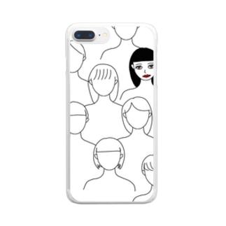 主演 Clear smartphone cases