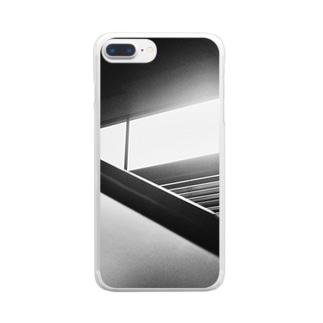 落日 Clear smartphone cases