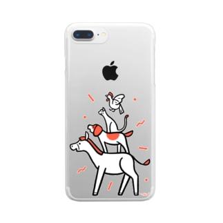 ブレーメンズ Clear smartphone cases