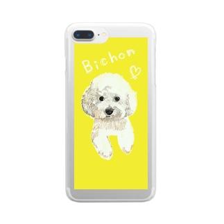 Bichon Clear smartphone cases