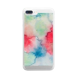 染々気分Ⅱ Clear smartphone cases