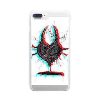 カフカ Clear smartphone cases