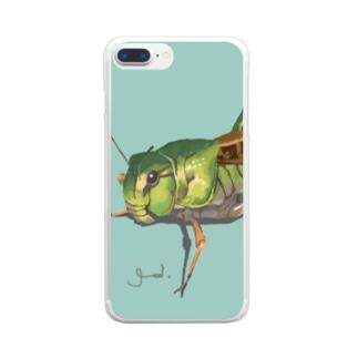 Grasshopper Clear smartphone cases