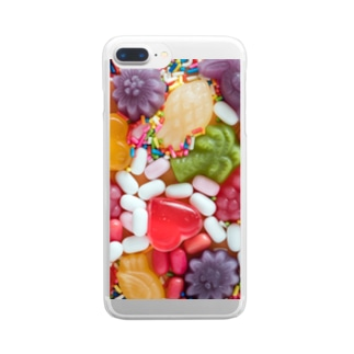 POP CANDYS Clear smartphone cases