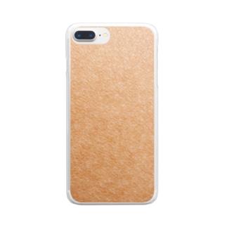 いつも、独りじゃない。皮膚 Clear smartphone cases