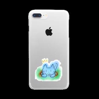 魚風商店のネコのすみか Clear smartphone cases