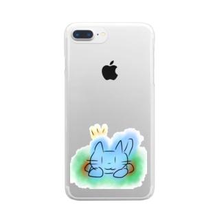ネコのすみか Clear smartphone cases