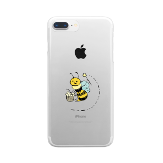 aaのwizard bee Clear smartphone cases