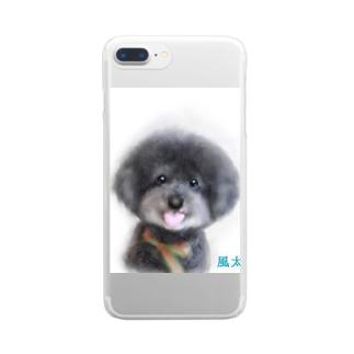 風太 Clear smartphone cases