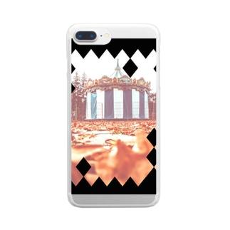 サイレントサァカス Clear smartphone cases