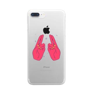 CHOICHOI Clear smartphone cases