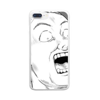 衝撃 Clear smartphone cases