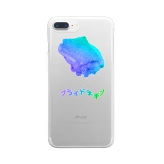 くそフライドチキン Clear smartphone cases